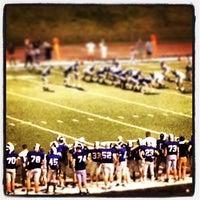 Photo taken at Burke High School by Jerry U. on 8/31/2013