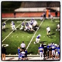 Photo taken at Burke High School by Jerry U. on 9/21/2013