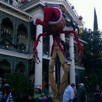 Photo taken at Haunted Mansion by Jason K. on 10/26/2012