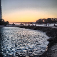 Photo taken at Bal Harbour Jetty by Ed A. on 5/4/2013