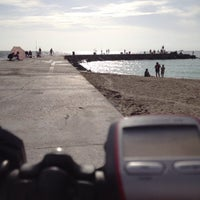 Photo taken at Bal Harbour Jetty by Ed A. on 9/1/2013
