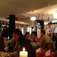 Photo taken at Brasserie 't Ogenblik by Gerald S. on 11/30/2012