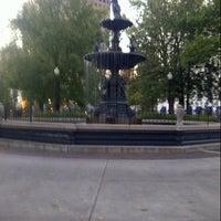 Photo taken at Court Square by Luke K. on 10/29/2012