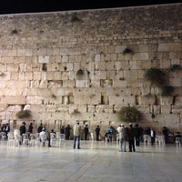 Photo taken at The Western Wall (Kotel) by Sefi S. on 10/16/2013