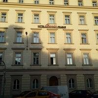 Photo taken at Chopin Hotel Prague by Дмитрий О. on 10/6/2013