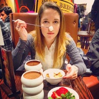 Photo taken at Max Brenner Chocolate Bar by Zachary P. on 6/29/2014