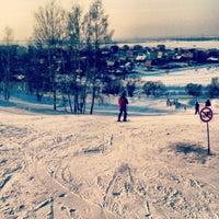 Photo taken at Склон Магес by Egor R. on 2/17/2013