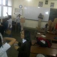 Photo taken at XII IPA 3 SMA BPI BANDUNG by Aulia Nur A. on 5/28/2013
