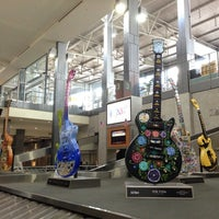 Photo taken at Austin Bergstrom International Airport (AUS) by Suzanne C. on 7/18/2013