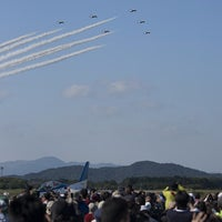 Photo taken at JASDF Tsuiki Air Base by Kei_0121 on 10/28/2013