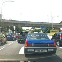 Photo taken at Loke Yew - Hang Tuah Intersection by Sam L. on 2/2/2013
