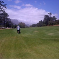 Photo taken at Stellenbosch Golf Club by Sizwe Jacques M. on 12/30/2012