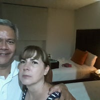 Photo taken at Hotel Mexico Plaza by Abraham A. on 9/17/2016