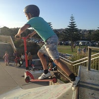 Photo taken at Maroubra Skate Park by Theo D. on 1/21/2013