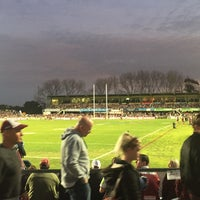 Photo taken at Brookvale Oval by Cheryl M. on 9/2/2017