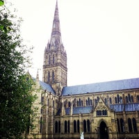 Photo taken at Salisbury Cathedral by Ben C. on 6/23/2013