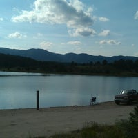 Photo taken at Monument Lake by CHRISTOPHER R. on 7/17/2014