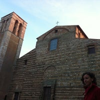 Photo taken at Piazza Grande by Giacomo C. on 11/23/2012