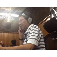Photo taken at Radio Sociedade da Bahia by Marco A. F. on 2/18/2014