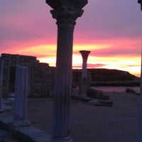 Photo taken at Chersonesus by Fedor L. on 10/11/2012
