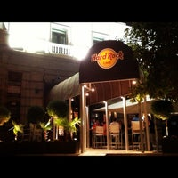 Photo taken at Hard Rock Cafe Madrid by Rafael B. on 10/5/2012
