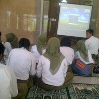 Photo taken at Masjid SMAN 1 PAKEL by Melia D. on 2/5/2014