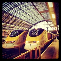 Photo taken at London St Pancras International Eurostar Terminal by JULIE S. on 4/11/2013