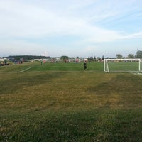 Photo taken at Budd Soccer by Andy D. on 7/18/2013