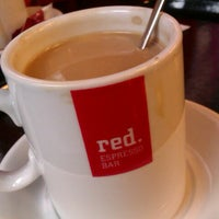 Photo taken at Red. Espresso Bar by Tatana T. on 10/9/2012
