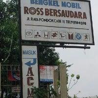 Photo taken at Bengkel Mobil ROSS BERSAUDARA by Robby putra A. on 10/17/2012
