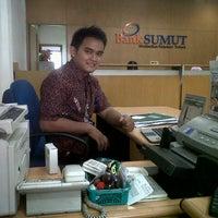 Photo taken at BANK SUMUT PERBAUNGAN by Agun W. on 10/5/2012