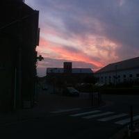 Photo taken at Pont-à-Celles by Corentin M. on 6/27/2013