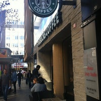 Photo taken at Starbucks Reserve by Erçin Ö. on 11/5/2012