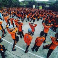Photo taken at SMK Negeri 2 Lumajang by Muhamad F. on 10/8/2015