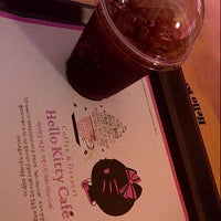 Photo taken at Hello Kitty Cafe by hanadera t. on 6/11/2013
