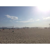 Photo taken at Beach Volleyball by Teddy Y. on 7/14/2014