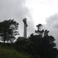 Photo taken at The Cross - Mt. Samat by DongJai L. on 8/16/2016