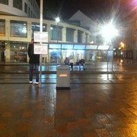 Photo taken at Marienplatz by Stephanie R. on 12/16/2012