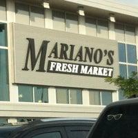 Photo taken at Mariano's Fresh Market by David E. on 7/4/2013