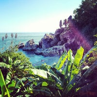 Photo taken at Playa Carebeillo by Juan D. on 10/11/2013