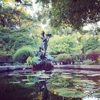 Photo taken at Central Park - Conservatory Garden by Laura T. on 9/23/2013