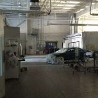 Photo taken at Hall Automotive Certified Body & Paint Shop by Jimmy B. on 1/31/2013