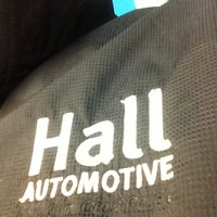 Photo taken at Hall Automotive Certified Body & Paint Shop by Jimmy B. on 3/14/2013