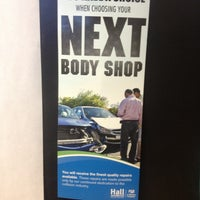 Photo taken at Hall Automotive Certified Body & Paint Shop by Jimmy B. on 1/10/2013