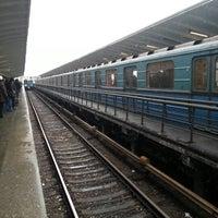 Photo taken at metro Vykhino by Artemij 🐼 on 3/1/2013