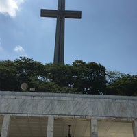 Photo taken at The Cross - Mt. Samat by Khyla C. on 3/25/2018