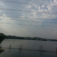 Photo taken at Shahpura Lake by Astha A. on 4/23/2013