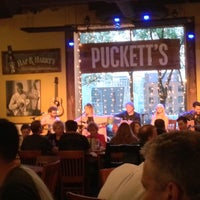 Photo taken at Puckett's Grocery & Restaurant by Tim R. on 4/30/2013