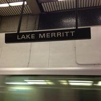 Photo taken at Lake Merritt BART Station by Alyssa G. on 3/3/2013