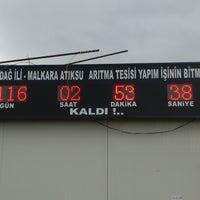 Photo taken at Atiksu Arıtma Tesisi Malkara by Serdar G. on 2/4/2014